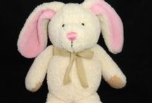 Easter Bunny Stuffed Animals / Soft and cuddly Easter Bunny stuffed animals (plush toys) to light up the eyes of any child.