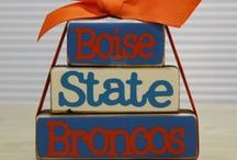 Boise State Broncos / Despite starting her career at University of Idaho Brandi our Social Media Director ended up completing her Degree at our very own Boise State University. Go big blue!