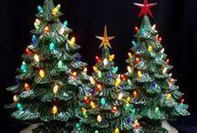 Ceramic Christmas Tree Base