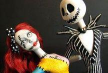 Nightmare Before Christmas Dolls / Interesting Nightmare Before Christmas Dolls.