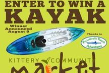Market Prizes (2015) / Kittery Community Market is an outdoor seasonal market from June - Oct on Sundays in Kittery, Maine featuring daily and seasonal prizes