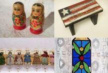 National patterns, colors, design