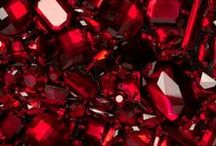 Ruby - July Birthstone / Radiant rubies are the birthstone for July and are also the marker for 40th wedding anniversaries, making it a very important gemstone.