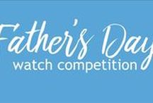 Father's Day 2016 / Inspiration and ideas for Father's Day 2016. To win a watch, check out our competition: http://www.chapelle.co.uk/news/fathers-day-competition/