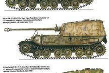 Modelling - German Pz VI Ferdinand & Elefant