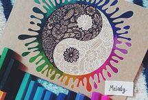 Drawings  Zentangles✍ / Drawings  Zentangle  Art  Mandalas