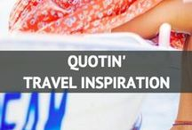 "Quotin' Travel Inspiration / ""When a person really desires something, all the universe conspires to help that person to realize his dream."" - Paulo Coelho   / by Travel Fashion Girl"