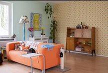 Onze Suus richt in / Onze Suus zoekt naar inspirerende manieren om haar huis in te richten  - searching for inspiring ways to decorate her home.