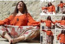 Tuniques en lin t-shirt et sweat / Tuniques en lin, sweaters, mode ethnique