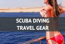 Scuba Diving Travel Gear / Travel Essentials for a Scuba Diving Trip / by Travel Fashion Girl