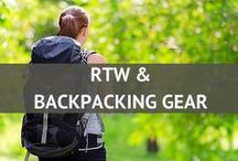 RTW and Backpacking Gear / Backpacking gear that is perfect for your round the world trip! / by Travel Fashion Girl