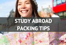 Study Abroad Packing Tips / by Travel Fashion Girl
