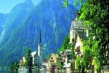 Austria!! / Imagine...soaring snow-capped mountains... pretty Tyrolean villages...crystal clear lakes ...alpine flora, pine forests and green pastures...fairytale castles....cowbells