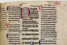 Manuscrits de Pontigny / Découvrez ici quatre manuscrits provenant de l'abbaye de Pontigny. Ils seront présentés au public cet été à la bibliothèque Jacques Lacarrière, à Auxerre !