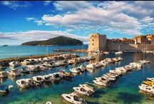 Croatia & Dubrovnik / What do you get if you mix Venice with the Greek Islands, add a dash of Austro-Hungarian history, and stir in some crystal waters, pine forests and gorgeous beaches?.... Croatia!
