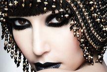BLACK & GOLD!!!...❤ / NEGRO Y DORADO....❤ / by Ivette Cruz