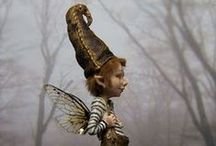 Fantasy world of art dolls