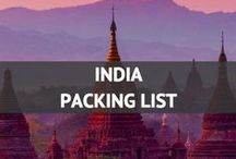 India Packing List / India Packing List and travel ideas! / by Travel Fashion Girl