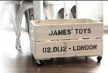Toy Box's / Building a toy box