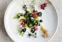 c a l i b r e / Beautiful modern plated food.