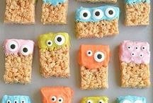 Halloween Dishes & Treats / Desserts, snacks and meals perfect for Halloween and the fall!