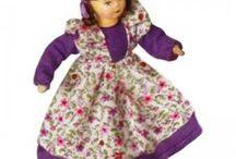 panenky dřevěné