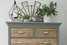 Repurposed Furniture / From dressers to headboards, the opportunities to repurpose furniture are endless!