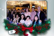Celebración de fin de año y brindis de Servicios Corporativos en Contaduría y Administración.