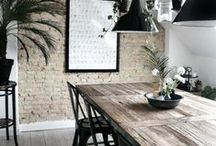 Industrial Chic: Industrial Style Home Decor / Industrial interior design with a feminine edge