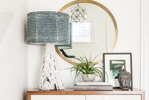 Eclectic Home Decor / A mix of style, textures and colors makes for visually striking decor.