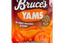 Bruce's Yams Products / View our entire retail line of sweet potatoes!