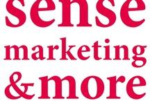 Sense marketing & more / Sense marketing & more staat voor alles wat u nodig heeft om met de juiste strategische aanpak uw zakelijke ambities waar te maken.   Wij vullen uw behoefte in met: - Doelmatige en heldere inzet van kennis en kunde - Praktische no-nonsense aanpak - Geen onduidelijk jargon, maar begrijpelijke taal  Wij doen dat met kennis van de markt voor versproducten, onze jarenlange ervaring, onze (inter)nationale netwerken en onze totaalaanpak.