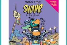 Swamp Cartoons by Gary Clark / Welcome to Swamp Cartoons by Gary Clark; humorous look at life through the murky world of a swamp. Funny characters: Ding Duck, Bob the Crayfish, Wart & Mort Frogs, Old Man Croc, Cheese & Chives Rats and entire cast of The Swamp! www.swamp.com.au