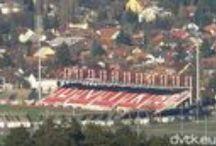Diósgyőri Stadion / A DVTK hazai pályája Miskolc, Andrássy út 61.