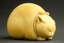 Netsuke: fermalls de bosses
