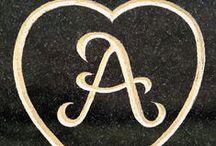 La lletra A