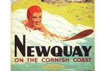 Vintage Newquay / Some of Newquay's finer moments, including vintage illustrations and a few snaps of Newquay through the years.