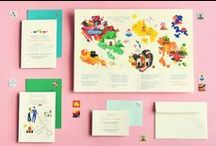 Invites & Announcement Design / design + advertising inspiration