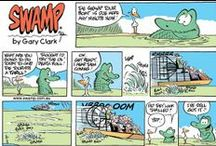 Airboat Fun / All that's good about airboating, crocodiles and gators from Swamp Cartoons and more!