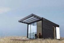 Summer house / #modern #summerhouse #summercabin #beachhouse / by Salla Syrjänen