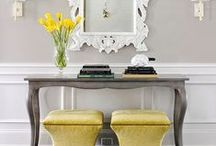 Entryways by Benjamin Rugs and Furniture / Design and decor ideas for your entryway.