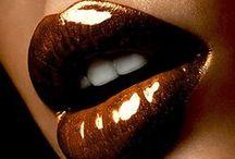 lips/ makeup/ nailart
