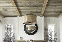 Ceilings by Benjamin Rugs and Furniture / Love for vertical spaces.  Interesting ceilings.
