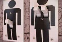 Etiquetes curioses de WC