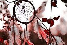 ~ Feathers & Dreamcatcher ~