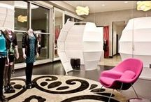 Fitting Rooms in Retail Environments / Ideas for retail fitting room design- how to turn trying on clothes into a brand-defining experience; Retail design; Virtual fitting rooms; Changing rooms; Visual Merchandising