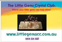 The Little Gems Crystal Club / crystal grids, sound therapy, gemstones, energy generators, spiritual, metaphysical, feng shui.
