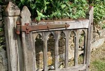 Garden gates and arbors