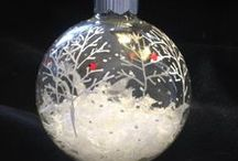 Christmas: Ornaments To Make / For every skill level from preschool kids to master crafter.  / by Beth Woods