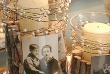 """""""Let There Be Light!"""" / Candle and lighting ideas for your wedding, parties and home decorating."""